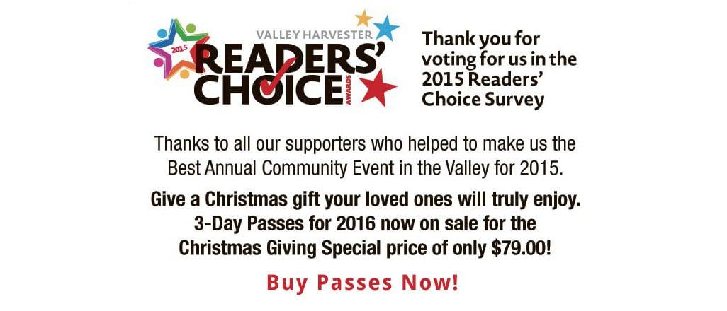 Readers Choice Survey