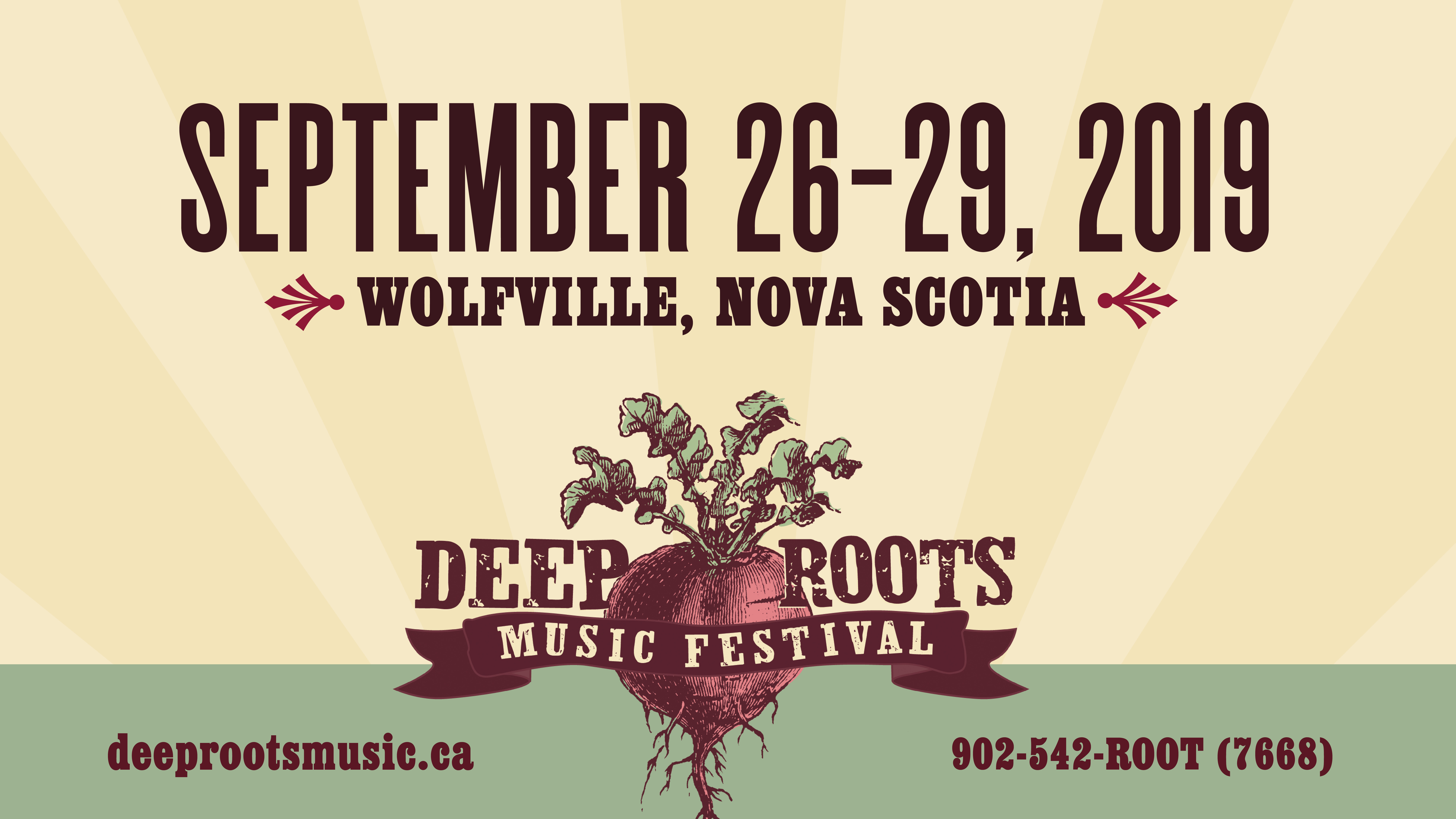 The 2019 Deep Roots Music Festival – Line Up Announced post image