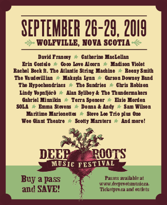 Deep Roots Music Festival Poster 2019