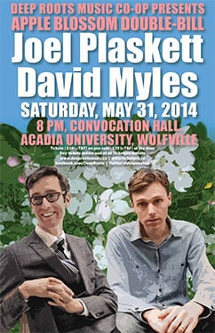 Joel Plaskett and David Myles in Concert