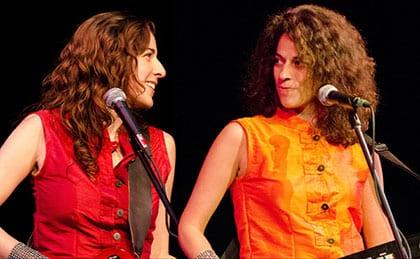 Sahara Jane & Kamila Nasr
